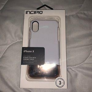 Incipio iPhone X case white